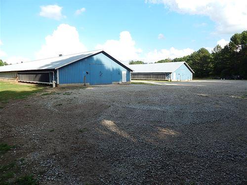 2 House Broiler Poultry Farm : Braselton : Jackson County : Georgia