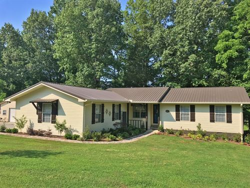 3 BR 2 BA Home Beechview Community : Clifton : Wayne County : Tennessee