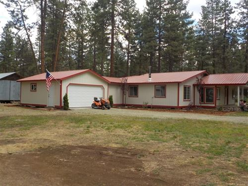 Newly Remodeled 4 Bedroom Home : Bonanza : Klamath County : Oregon