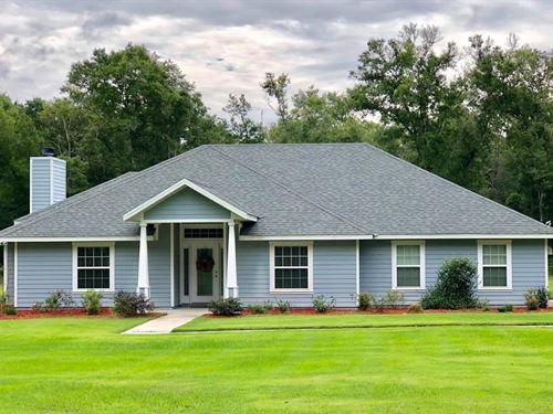 Country Home 8+ Acres Alachua : Newberry : Alachua County : Florida