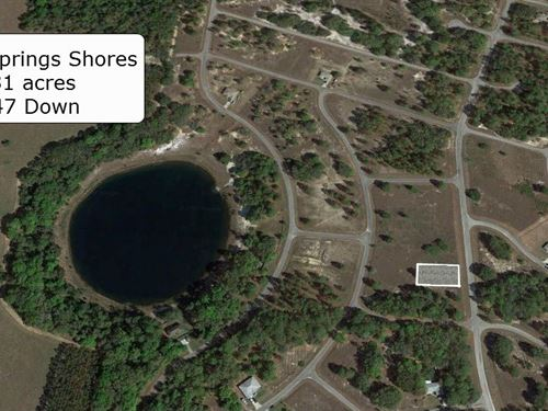 .31 Acre Cleared Lot On Paved Road : Ocklawaha : Marion County : Florida