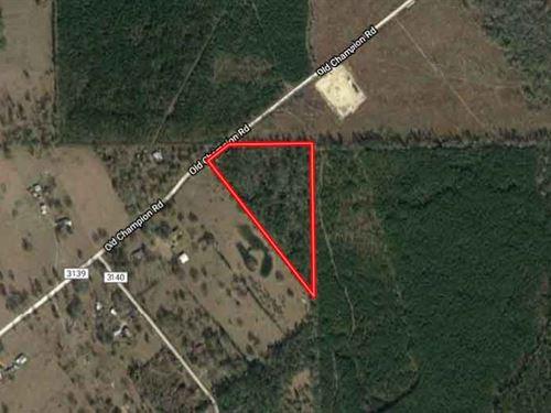 Unrestricted 10.11 Acres In Orange : Orange : Newton County : Texas