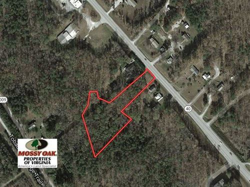 2.06 Acres of Residential Land For : Victoria : Lunenburg County : Virginia