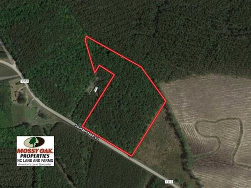 Under Contract, 9.5 Acres of Hunt : Gates : North Carolina