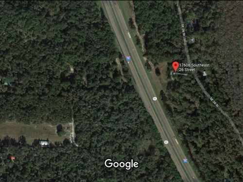 I-75 Highway Opportunity With Lots : Micanopy : Alachua County : Florida