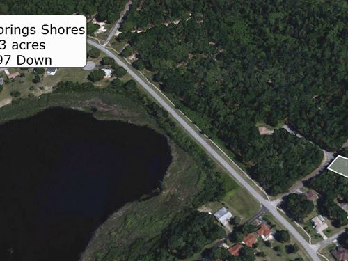 Invest Or Build On .23 Acre Lot : Ocala : Marion County : Florida