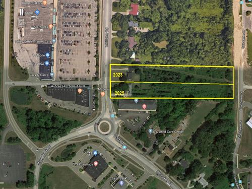 Commercial Development Land : Ypsi : Washtenaw County : Michigan