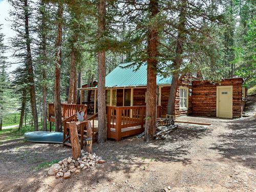 Cabin Ute Lakes Fishing Club : Divide : Teller County : Colorado