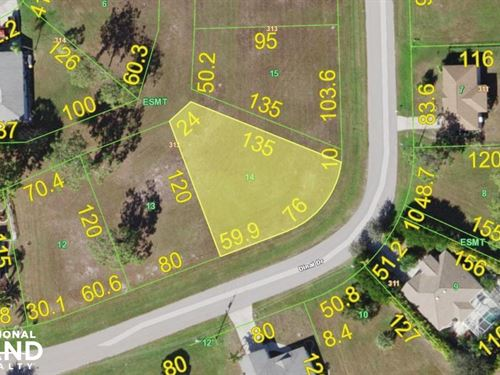 Great Lot in Burnt Store Village : Punta Gorda : Charlotte County : Florida