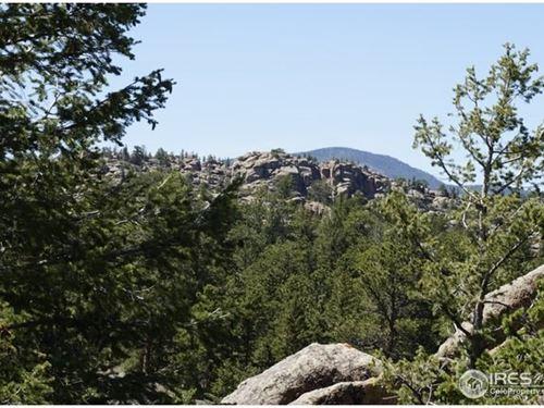 Colorado Mountain Golf Property : Red Feather Lakes : Larimer County : Colorado