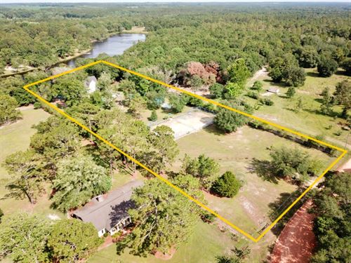 Lakefront Home Private Secluded : Geneva : Alabama