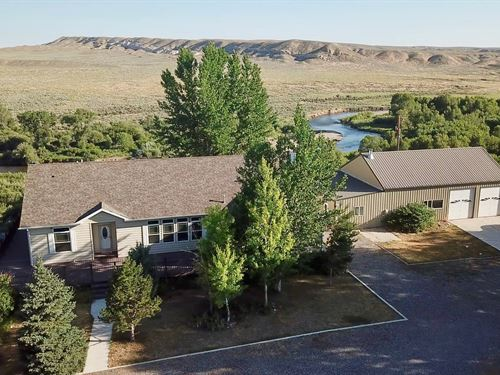 Van Vleet Lane Popo Agie Overlook : Hudson : Fremont County : Wyoming