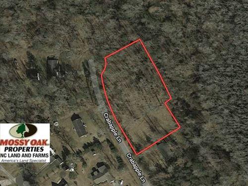 1.4 Acres of Residential Land For : Lake Waccamaw : Columbus County : North Carolina