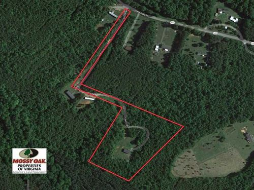 Under Contract, 8.33 Acres of Hu : Nathalie : Halifax County : Virginia