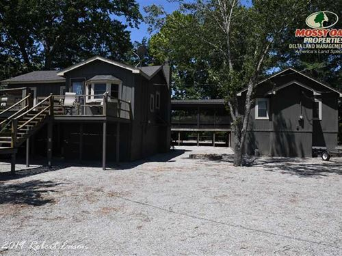 Awesome Hunting/Fishing Cabin on : Holly Grove : Monroe County : Arkansas