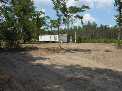Nice Cleared 5 Acres Right Off : O'brien : Suwannee County : Florida