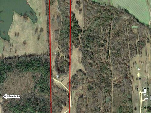 20 +/- Acres Hobby Farm With Cabin : Sardis : Panola County : Mississippi