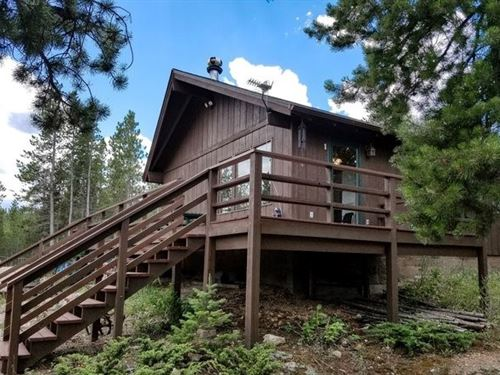 Year Round Northern Colorado Cabin : Red Feather Lakes : Larimer County : Colorado