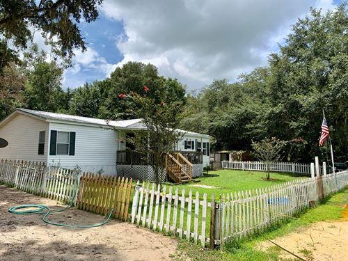 Country Home, 10 Acres, Trenton : Trenton : Gilchrist County : Florida