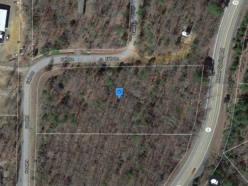 1.74 Acres For Sale In Heber Spring : Heber Springs : Cleburne County : Arkansas