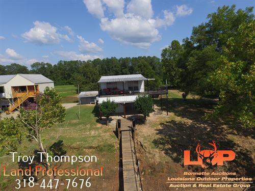 Waterfront Camp On Red River : Marksville : Avoyelles Parish : Louisiana