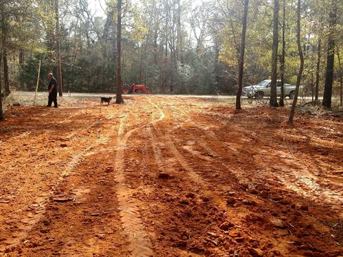 Mobile/Rv Ready Cleared, Culvert : Livingston : Polk County : Texas