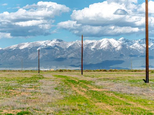 Lot With Electric & Road Frontage : Alamosa : Colorado