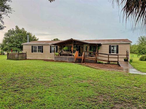Country Home, Horse Ready, Trenton : Trenton : Levy County : Florida