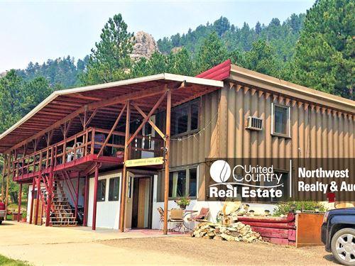 Montana Mountain Property Zortman : Zortman : Phillips County : Montana
