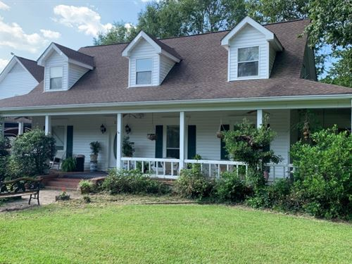 3.4 Acres With A Home In Simpson CO : New Hebron : Simpson County : Mississippi