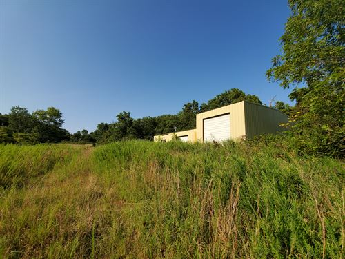 Home And Shop On 11 Acres : Noble : Ozark County : Missouri