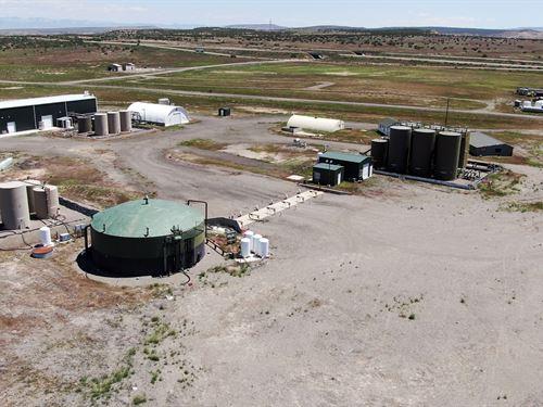 Utah Fracking Waste Water Treatment : Westwater : Grand County : Utah