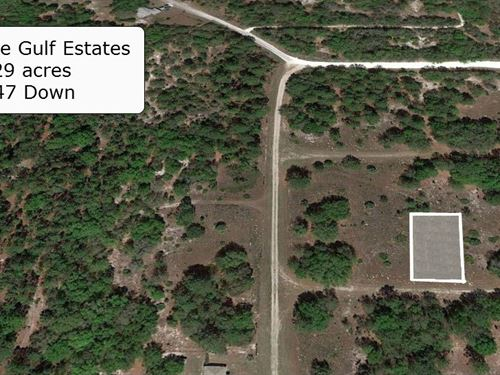 .29 Acre Cleared Lot Near River : Crystal River : Citrus County : Florida