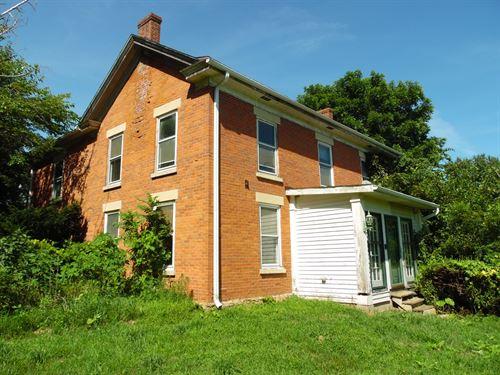 Historic 2 Story Brick Home 10 : Scales Mound : Jo Daviess County : Illinois