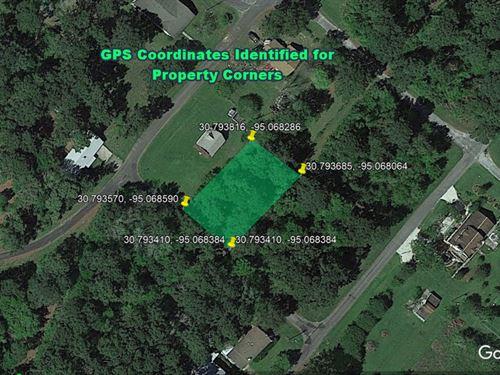 Priced To Sell $2,000 0.24 Acres : Livingston : Polk County : Texas