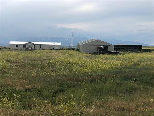 27 Cox Creek Lane : Big Timber : Sweet Grass County : Montana