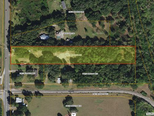 5.36 Acre Industrial Site : Lakeland : Polk County : Florida