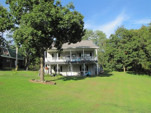 Mo Cottage, Lake, Fishing / Boating : Canton : Clark County : Missouri