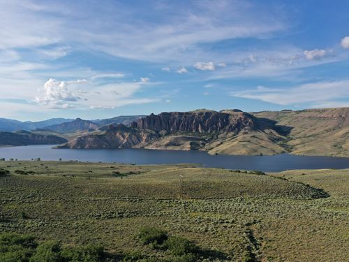 Land Over Looking Blue Mesa : Gunnison : Colorado