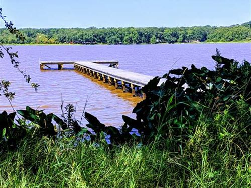 Nearly One Acre Waterfront Lot : Henderson : Cherokee County : Texas