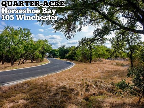 .26 Acres In Llano County : Horseshoe Bay : Llano County : Texas