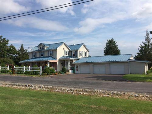 6 Acres, Home, Barn, Ponds : Danville : Montour County : Pennsylvania