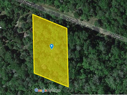 1.07 Acres For Sale in San Jacinto : Coldspring : San Jacinto County : Texas