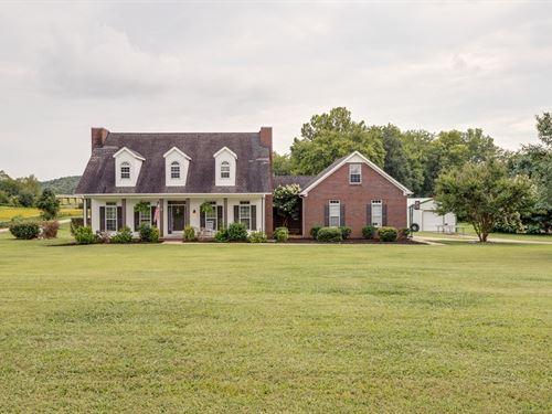 Custom Built Home Acreage Columbia : Columbia : Maury County : Tennessee