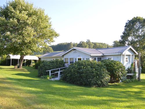 Manufactured Home Located 9.38 : Piney Creek : Alleghany County : North Carolina