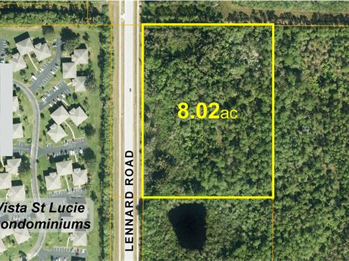 Residential Development Site : Port St Lucie : Saint Lucie County : Florida