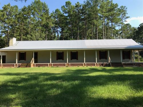 20 Acres With A Home In Jefferson : Prentiss : Jefferson Davis County : Mississippi