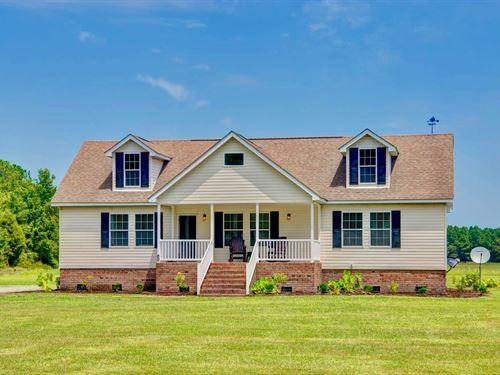 Country Home, Acreage Hyde Co, Nc : Scranton : Hyde County : North Carolina