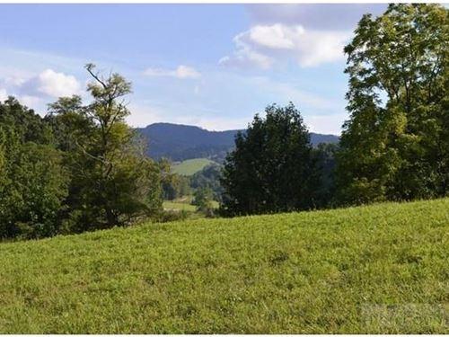 Beautiful 4.66 ac Located Minutes : Sparta : Alleghany County : North Carolina
