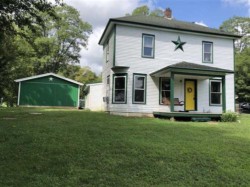 Land For Sale, 13 Acres, Farm Ho : Gosport : Monroe County : Indiana